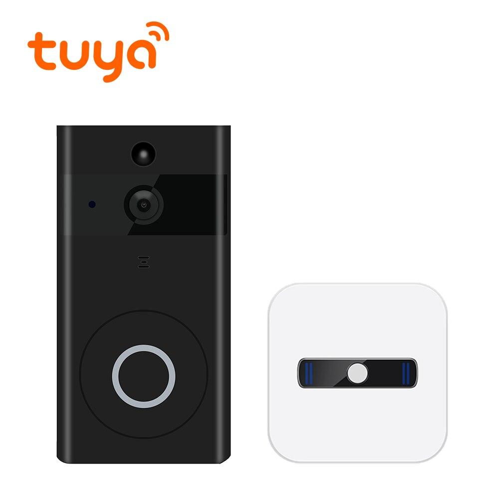 Туя Поддерживаемые видео колокол дверь домофон Smart Запись дверной звонок Камера