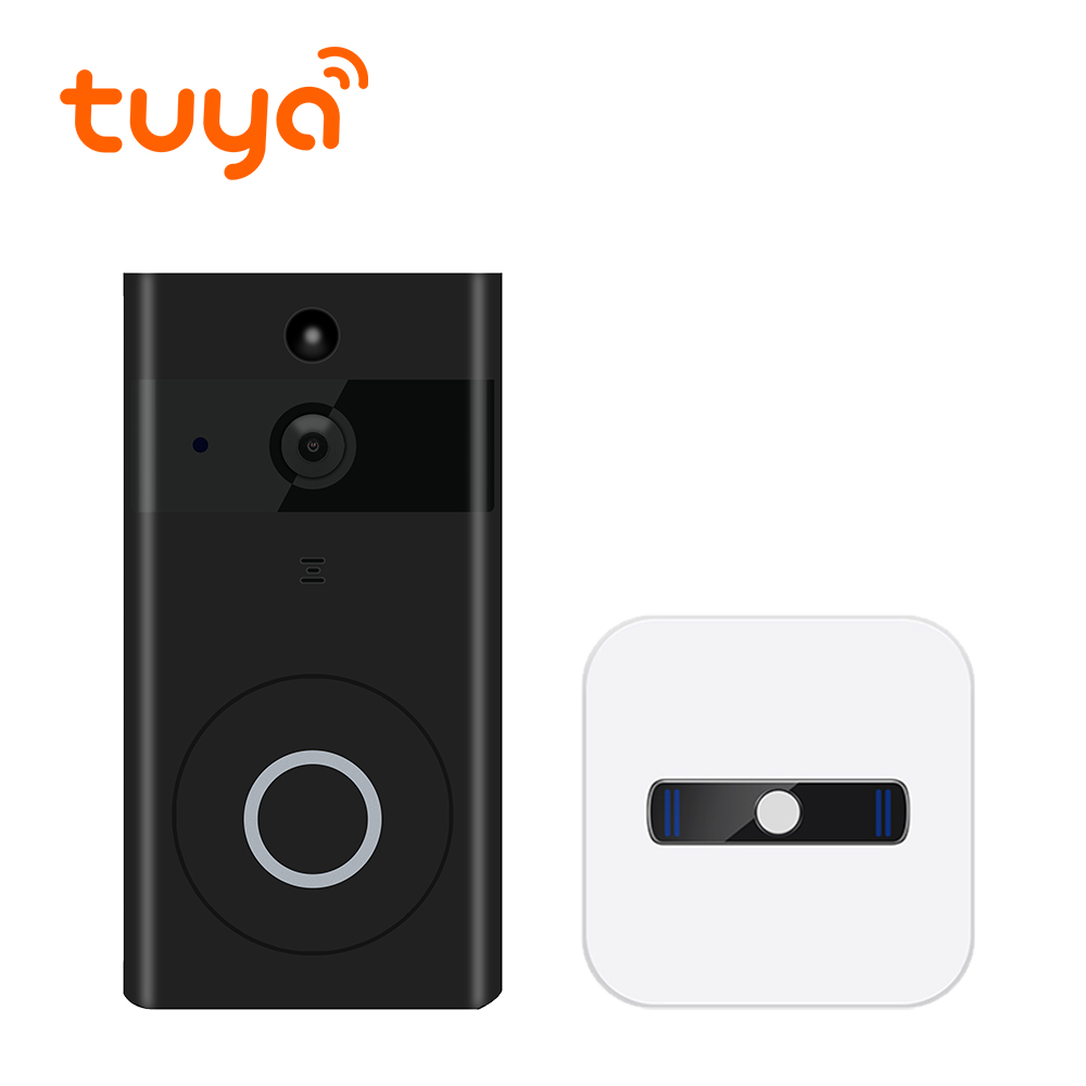 Tuya Supported Video Bell Door Entry Phone Smart Recording Doorbell Camera