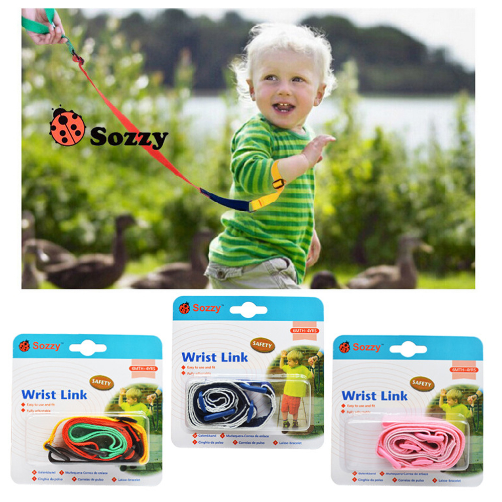 1pcs Sozzy Children's Anti-lost Tape Baby Safety Leash Girls And Boys Toddler Kids Wrist Band Safe