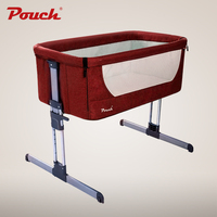 Pouch Baby Bed for 0 12 months, Multifunctional Baby Cribs, Europe Style Portable Baby Cradle, Folding Infant Shaker