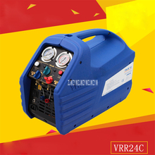 New Arrival VRR24C Double Cylinder Refrigerant Recovery Machine 220-240VAC 50 / 60Hz 5A 1750rpm 1HP Motor 0-40 Degrees Hot Sale