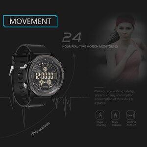 Image 3 - SENBONO مقياس المرور الرياضة المقتفي ساعة توقيت ساعة ذكية 5ATM مقاوم للماء التحكم عن بعد جهاز تذكير بالرسائل القصيرة والمكالمات الرجال معصمه
