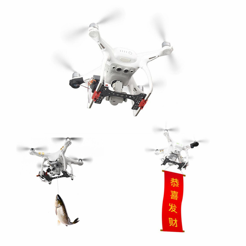 Shinkichon Pelter Fish Bait Advertising Ring Thrower for Fishing Publicity Propose for DJI Phantom 4/4P/4A sunnylife drone mavic pro transporte dji mavic pro advertising thrower publicity shinkichon pelter fish bait for mavic platinum