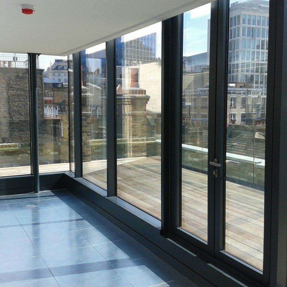 VLT20 % Film de teinte solaire à réduction de chaleur 70 cm x 1000 cm Film de teinte de fenêtre en argent Film de teinte à sens unique Film de fenêtre en miroir - 6