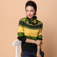 2016 New Spring Women S High Quality Fashion Sweater Cashmere Sweater Heap Turtleneck Long Sleeve Sweater