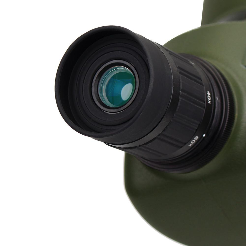 SVBONY Spotting Scope 20-60x60 / 25-75x70mm Zoom telescoop BAK4 - Jacht - Foto 5