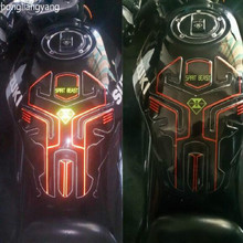super cool PU GLUE reflective gw250 tank protector tank sticker gw250 usb t 1