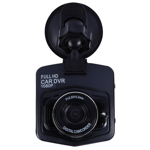 1080P Mini Car Camera DVR Detector GT300 2 Inch 12V Parking Recorder Video Registrator Camcorder Night Vision