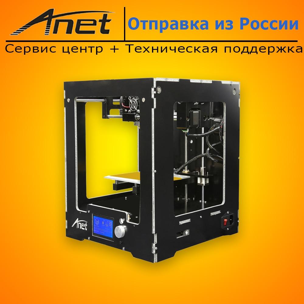 New Anet A3 Prusa I3 Reprap 3d Printer Kit Ready For Printing 8GB SD PLA Plastic