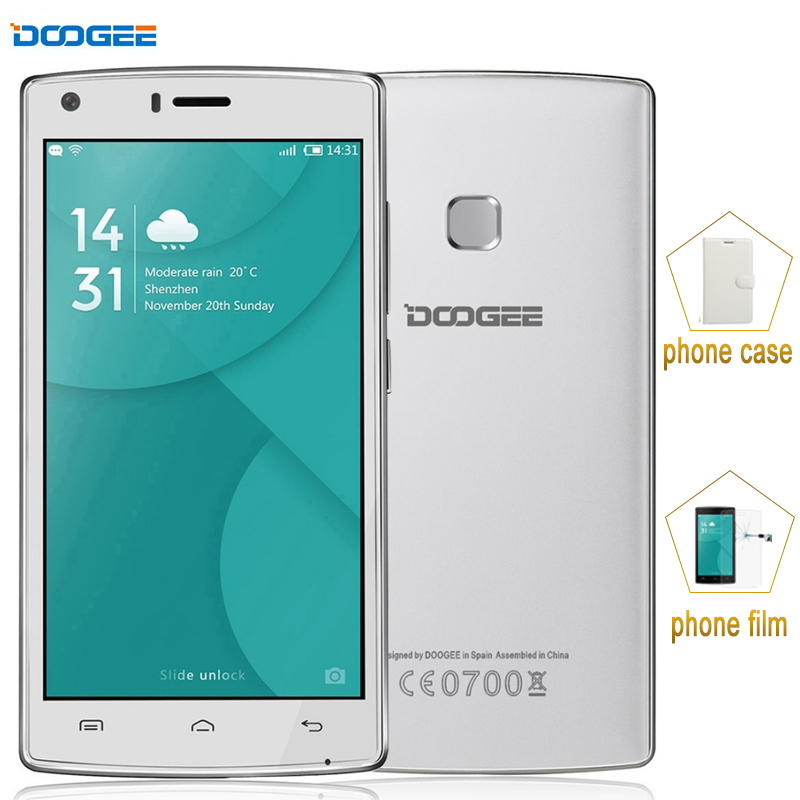 US $66 65 |4000mAh DOOGEE X5 MAX ROM 8GB+ RAM 1GB Network 3G 360 Degrees  Fingerprint 5 0'' Android 6 0 MTK6580 Quad Core 1 3GHz-in Mobile Phones  from