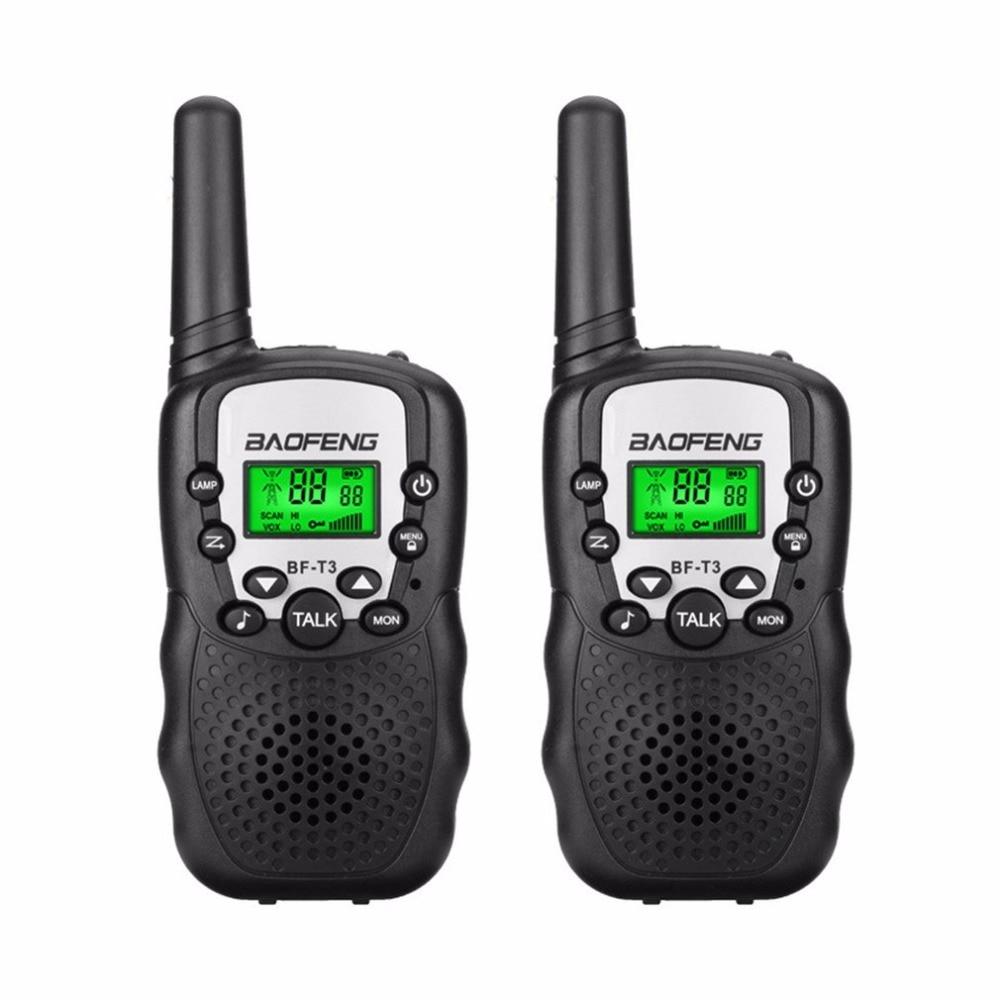 2 unids baofeng mini Walkie-talkies niños al aire libre interfonos portátil aventura Radios transceptor portátil ligero transceptor
