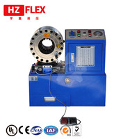 CE Verfied hydraulic crimping tool Automatic 380v 3kw 3 ph HZ 68 51mm 4SP R12 rubber hose crimping machine