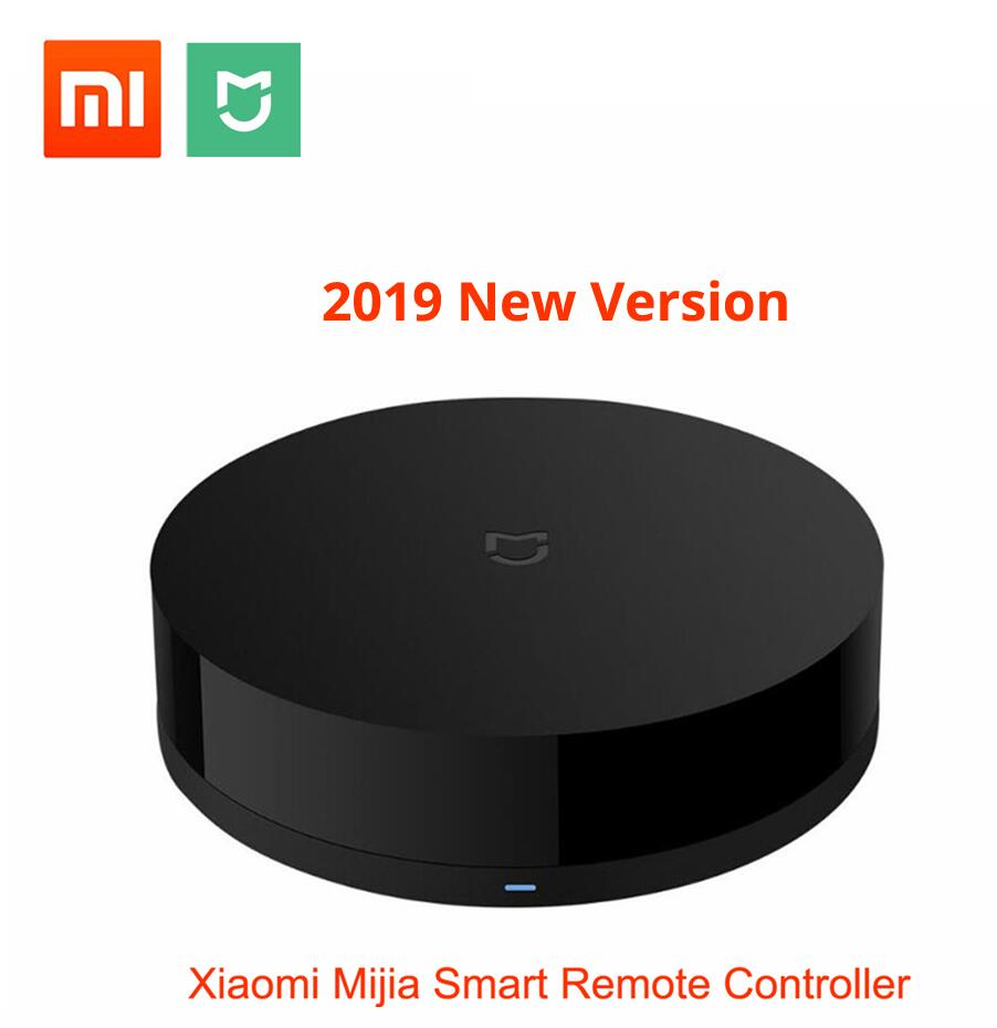 New Xiaomi Mijia Universal Intelligent Smart Remote Controller WIFI+IR Switch 360degree Smart Home Automation Mi Smart Sensor