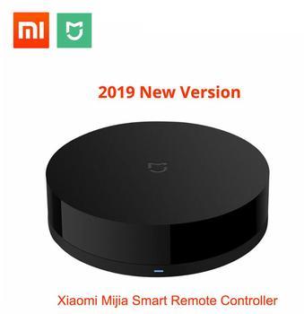 new Xiaomi Mijia Universal Intelligent Smart Remote Controller WIFI+IR Switch 360degree Smart Home Automation Mi Smart Sensor