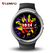 LEMFO LES1 Android 5.1 OS 1GB+16GB MTK6580 Smart Watch Phone Support SIM Card GPS Wifi 3G Reloj Inteligente Smart Wristwatch