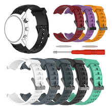 Silicone Watchband for SUUNTO Elementum Terra Series Smart Watch With Tool  Watchbands Wrist Strap Replacement