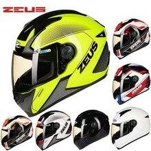 2016 новый DOT сертификации ЗЕВС анфас мотоциклетный шлем ABS мотокросс шлемы мотоцикла ZS-811 Four Seasons Размер Ml XL XXL