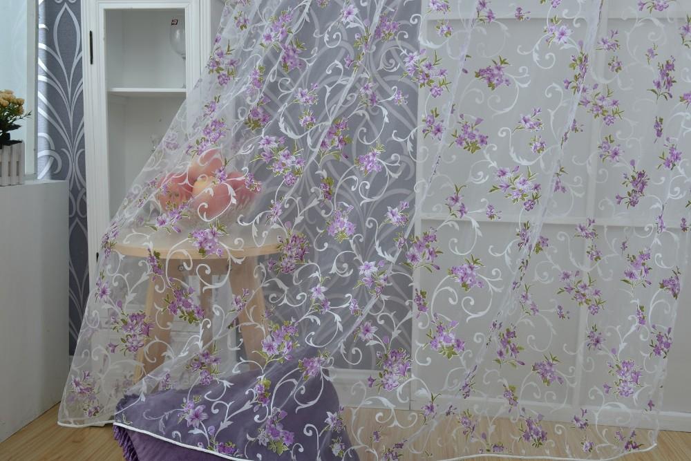 purple tulle curtain (9)