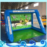 Заводская цена на выходе ПВХ официальный надувные Футбол kick игры, надувные футбольные Футбол целевой буллитов гол