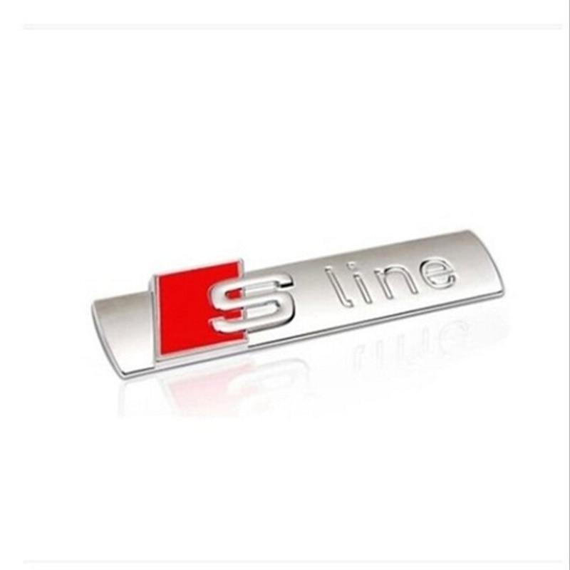 3D Metal Car S-line Sticker at stkcar.com accessories
