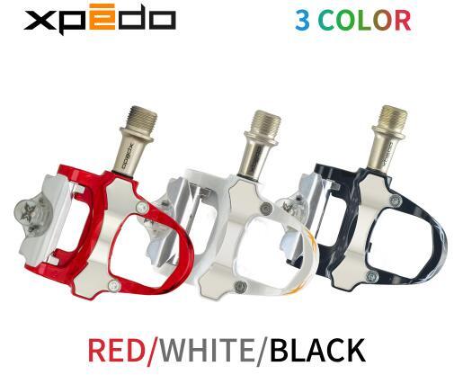 Wellgo Xpedo XRF07MC 235g pédale de vélo de route en alliage de magnésium avec 2 paires de crampons compatibles avec keo