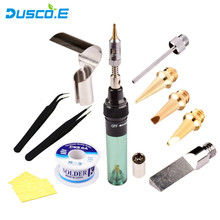 12 in 1 High Quality MT-100 Electronics DIY Tool Gas Soldering Iron