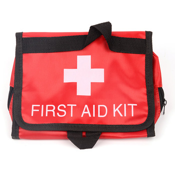 Home Drug Storage Organization Medical Kits Bag Outdoor Portable First-aid Kit Pill Organizer Accessories Empty