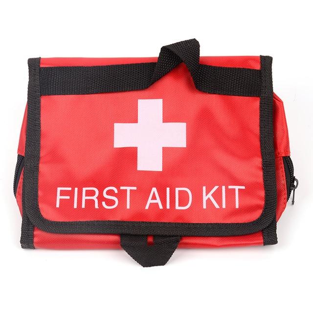 Home Drug Storage Organization Medical Kits Storage Bag Outdoor Portable First-aid Kit Bag Pill Organizer Accessories Empty