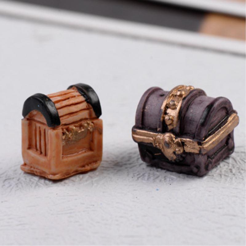 Ретро смолы касса фигурки Micro озеленение, декор для сада DIY Craft Интимные аксессуары отправить случайный 2 шт./лот p2