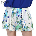 YNZZU Women Sexy High Waist Floral Short Girl Summer Beach Casual Holiday Fresh Shorts Print short femme Shorts hot women YB008