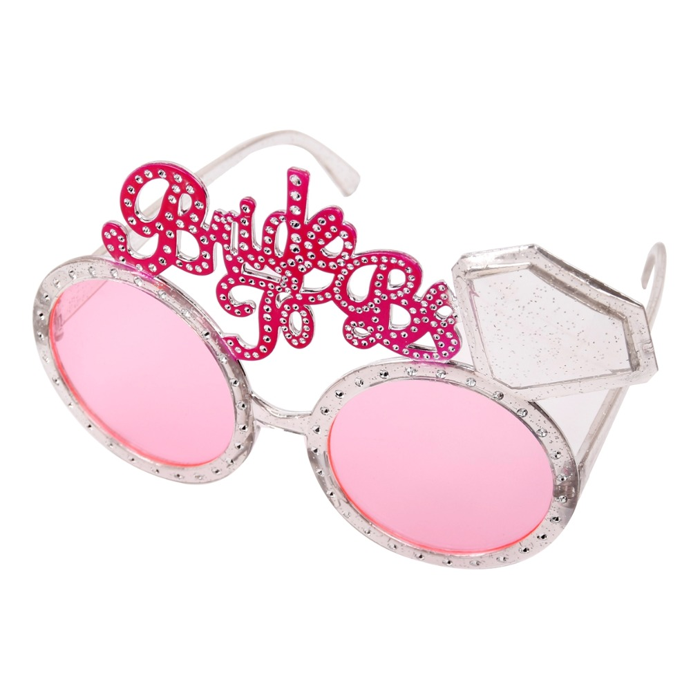 FENGRISE Bachelorette Party Glasses Pink Diamond Bride To Be ...
