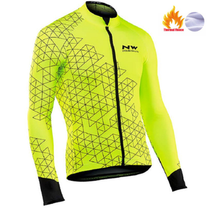 northwave Winter Thermal Fleece Jersey Jacket Bicycle Cycling Warm MTB Bike Clothing