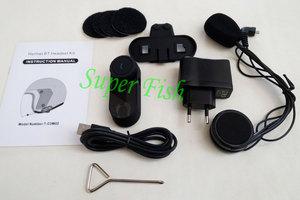 Image 5 - FreedConn Motorcycle Intercom Bluetooth Helmet Headset T COM FM 2 Riders BT Interphone Moto Intercomunicador+Soft Mic