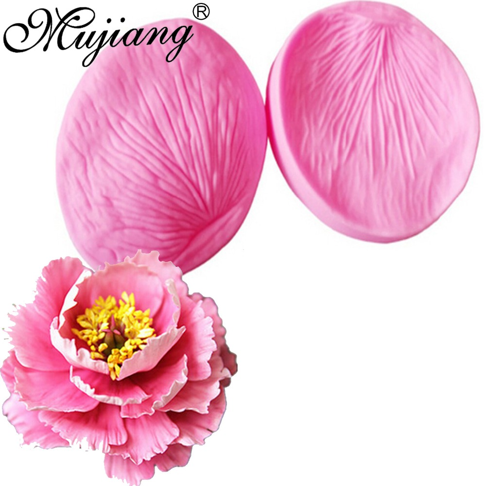 100% Quality 3d Peony Flower Petals Silicone Fondant Molds Cake Decorating Chocolate Candy Sugarcraft Cake Mould Polymer Clay Tools Ct858 To Adopt Advanced Technology Arts,crafts & Sewing