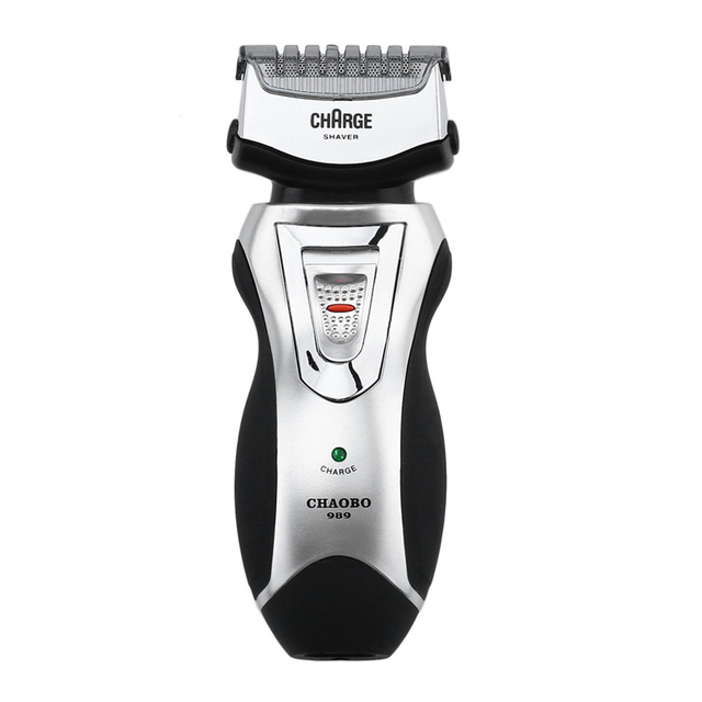 Rechargeable electric shaver doubl