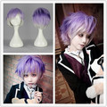 MCOSER Fashion Synthetic 32cm Men Hairstyle Diabolik Lovers Kanato Sakamaki Cosplay Anime Wig