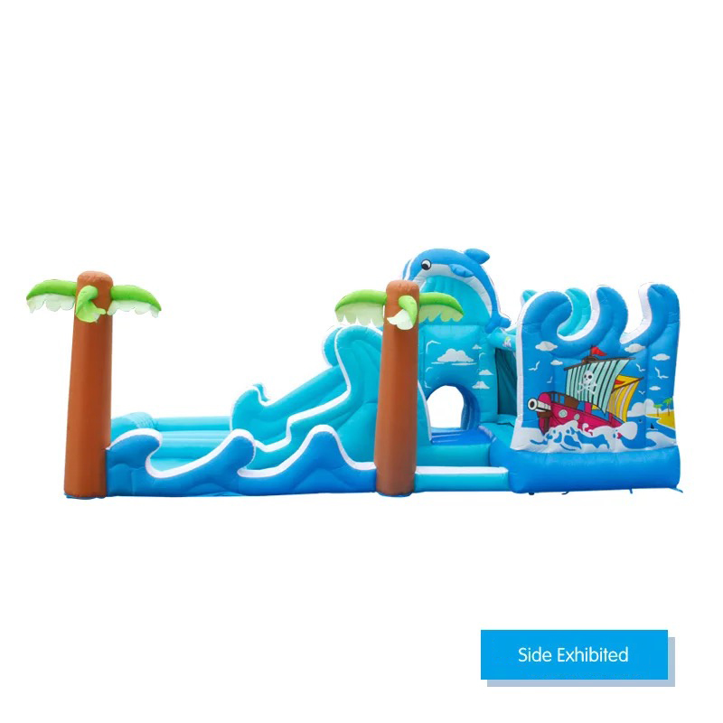 HTB1k0W3PpXXXXcGXXXXq6xXFXXXp - Inflatable Bouncer Bounce House With Double Water Slide, Air Trampoline, and Mesh Swimming Pool