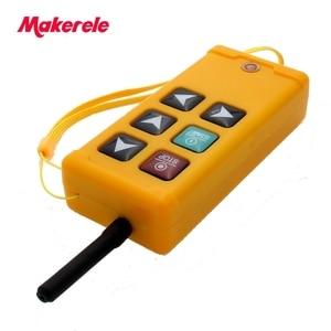 Image 3 - Makerele MKLTS 6 6 teclas de Controle industrial Controle Remoto transmissor + receptor 1 1 DC12V 24 V, AC36V 110 V 220 V 380 V
