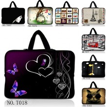 "14"" Soft Laptop Sleeve Case Bag Cover+Hide Handle For 14"" Dell Alienware M14x PC / HP Chromebook 14 Chrome OS(China)"