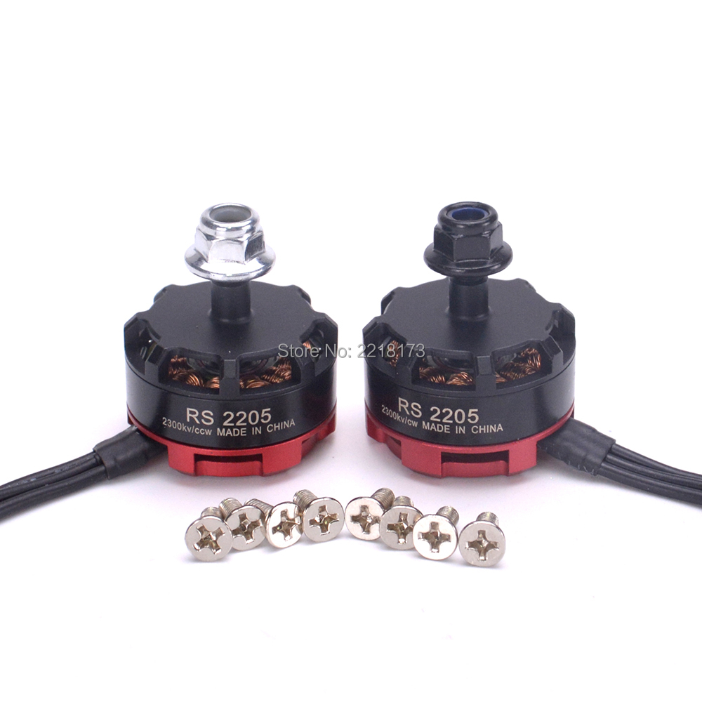 2 pz RS2205 2300kv RS 2205 supporto Motore Brushless 3-4 S PER ZMR250 Robocat 270 FPV Quadcopter