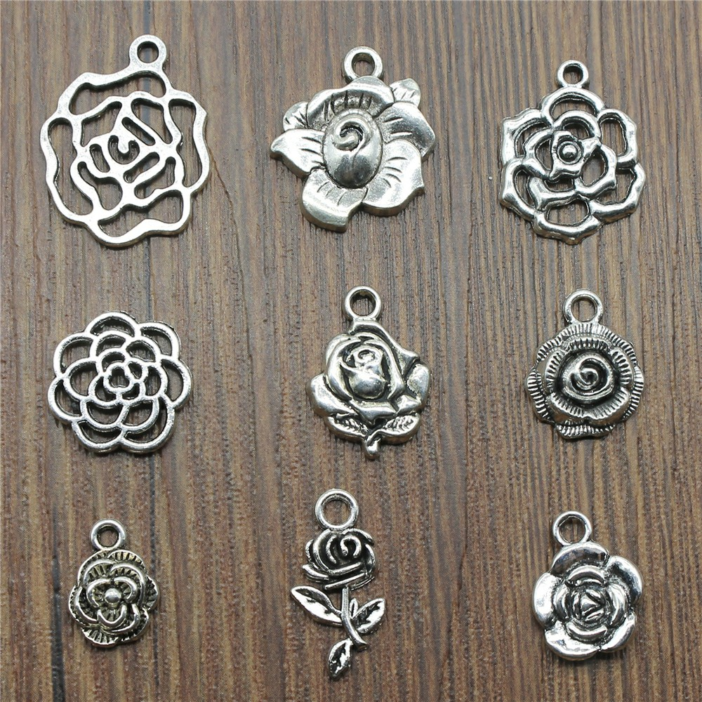 40Pcs Tibetan Silver BEE Charms for jewelry making 16x12mm
