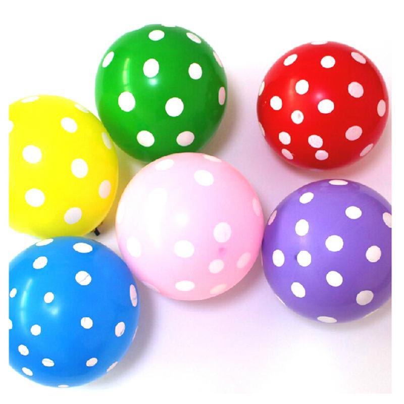 comprar colores unids de cumpleaos decoracin decoracin polka dot globo de ltex para la boda del partido nios de juguete para nios
