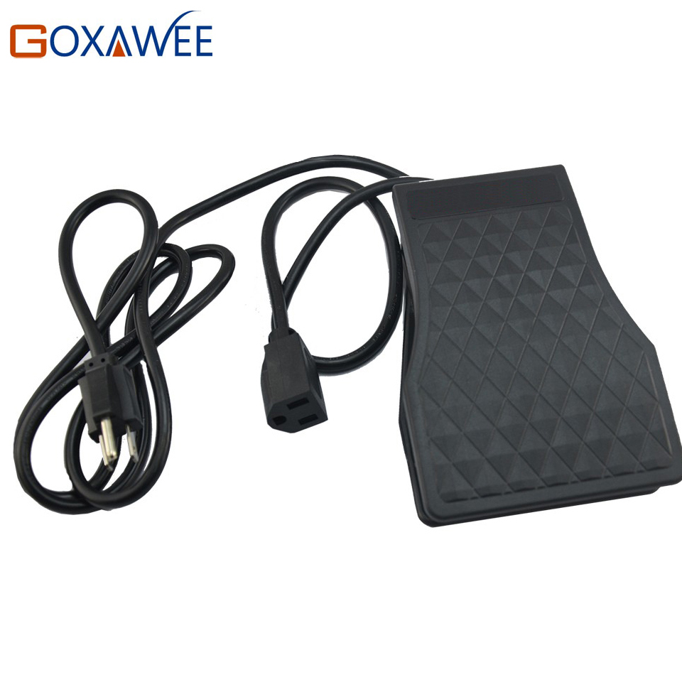 GOXAWEE Foot Pedal For Foredom Flex Shaft Foot Pedal Speed Control Power Tools Accessories wholesale price foot control pedal for welding machine