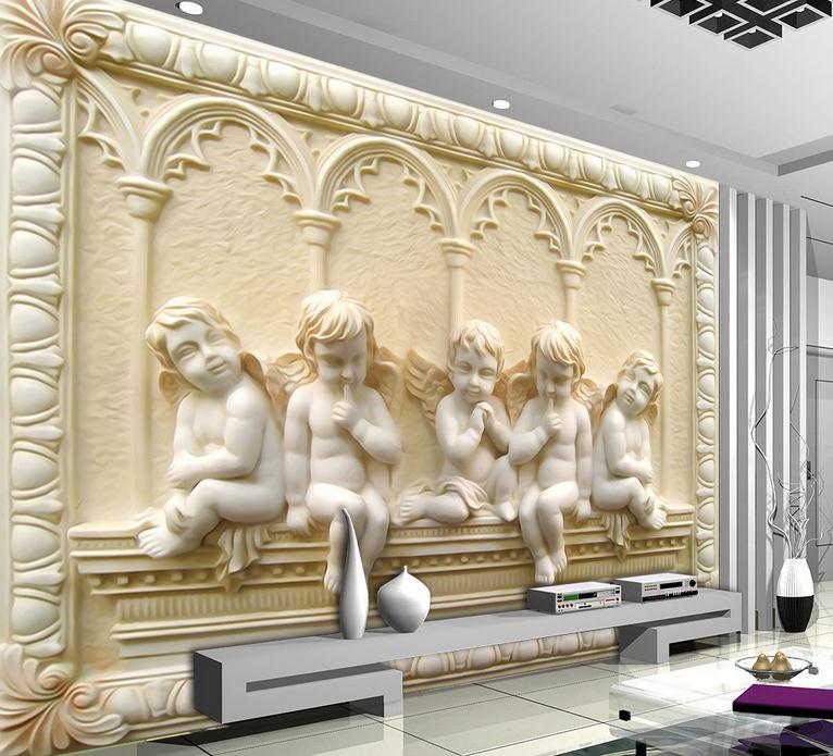 3D photo wallpaper custom 3d wall mural wallpaper murals Eros