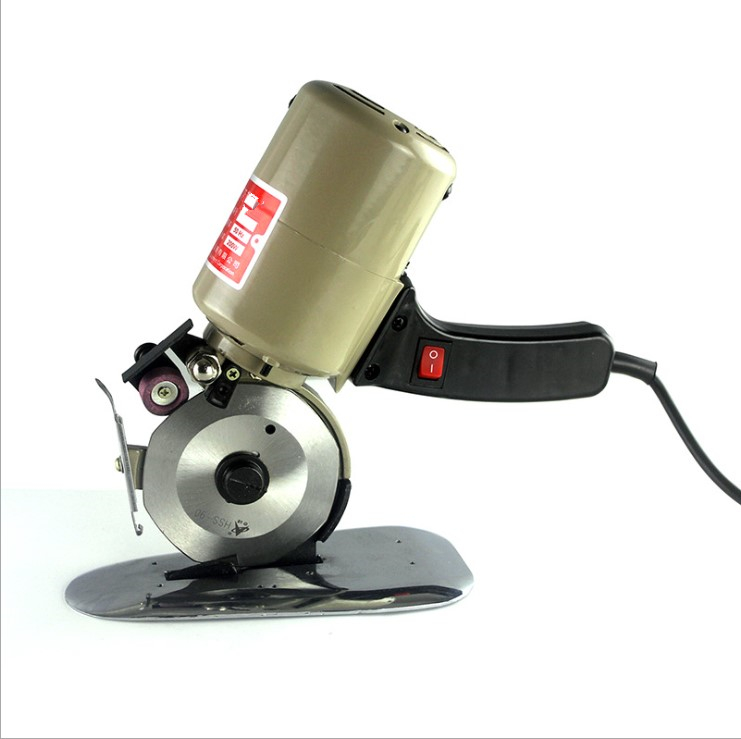 Fast Delivery 90mm Blade Electric Round Knife Cloth Cutter Fabric Cutting Machine 110V 220V 200W Round