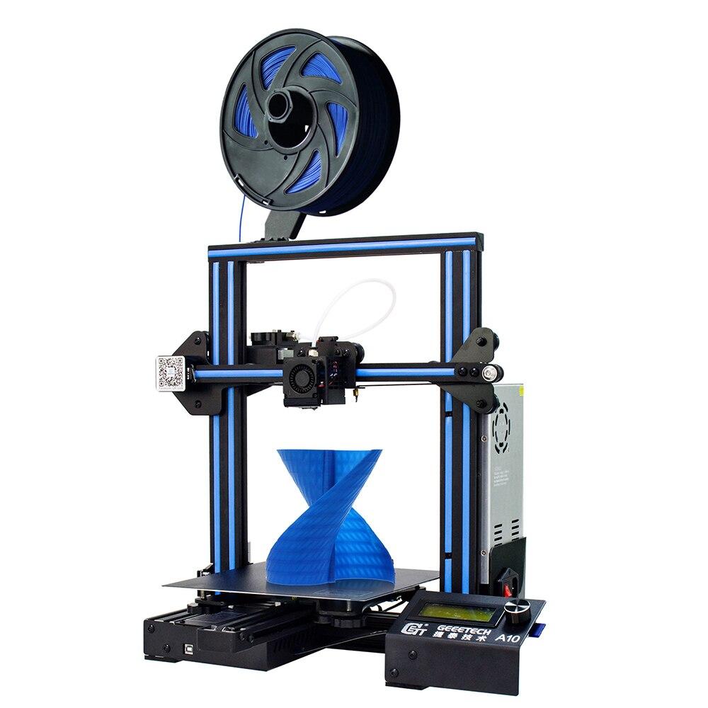 Geeetech A10 3D Imprimante Une Bonne Adhérence Plate-Forme à l'étranger entrepôt gratuite