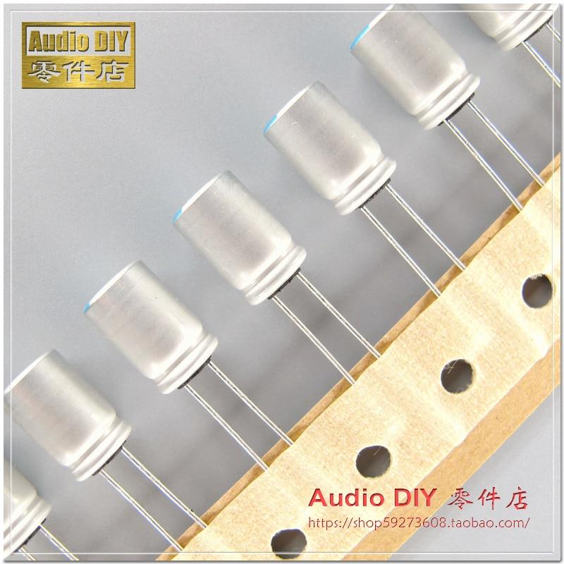 30PCS/50pcs Japan Chemical PS Series 100uF/20V 8*12 Original Box Copper Foot Aluminum Polymer Solid Capacitor Free Shipping