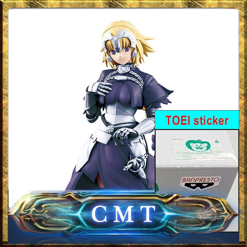CMT INSTOCK Original BANPERSTO Fate Apocrycha Ruler Figure Anime PVC Toys Figure with original TOEI sticker le fate топ