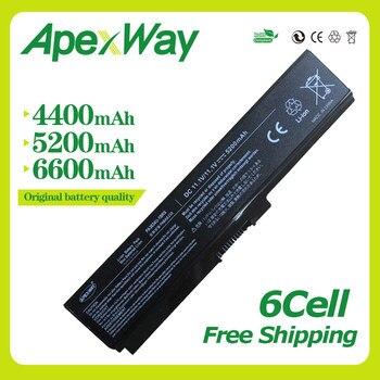 Apexway  6 Cells 10.8v laptop battery for Toshiba PA3634U PA3634U-1BRS PA3634U-1BAS Satellite A660 C650 L650 L670 M305 M500