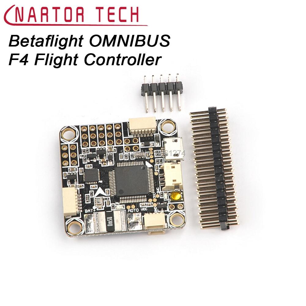 Betaflight OMNIBUS F4 Flight Controller Board Baro Built-in OSD for FPV Racing Drone emax f4 magnum tower parts f4 flight controller 6 in 1 betaflight osd mini main board for rc racing drone quadcopter